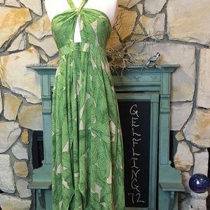 Kimchi Blue Deveraux cutout twist maxi dress